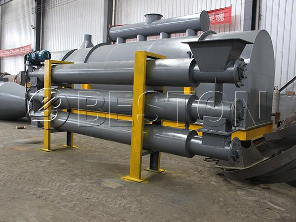 coconut shell carbonizing machine