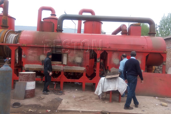 Wood Carbonization Machine