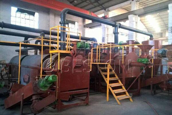 Palm Kernel Shell Charcoal Machinery