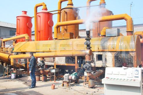 Beston Biochar Making Plant for Sale