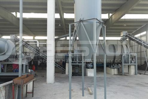 Beston Charcoal Making Machine Was Installed in Turkey