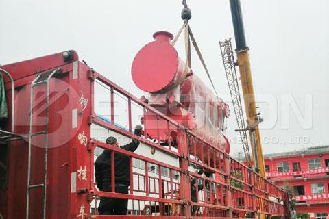 Shipment of Beston Carbonization Machine